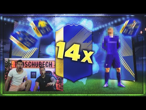FIFA 18: Unser BESTER TOTS START 😱 14x TOTS im PACK OPENING 🔥 (Best OF)