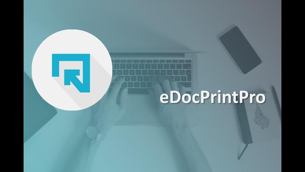 eDocPrintPro   FREE PDF Printer   PDF/A, SDK, Tools, PlugIn