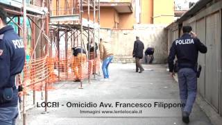 Locri - Omicidio avv. Francesco Filippone (by EL)
