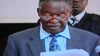 President Sata first press conference