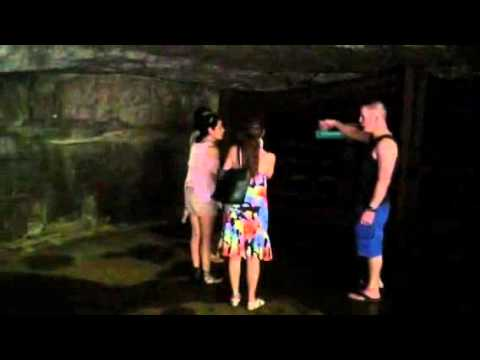 The caves at Clarksville , Tennessee