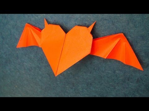 Horned Heart origami Tutorial (Tadashi Mori)