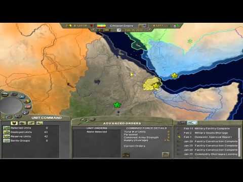 Supreme Ruler 2020 - Scenario - Ethiopian Empire - Part 1