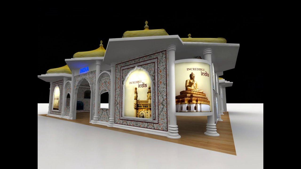 3d Exhibition Design Software : D exhibition designs youtube