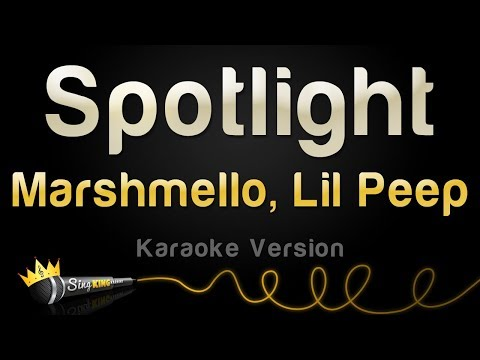 Mashmello x Lil Peep - Spotlight (Karaoke Version)