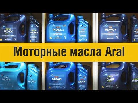 Видеоурок: Моторные масла