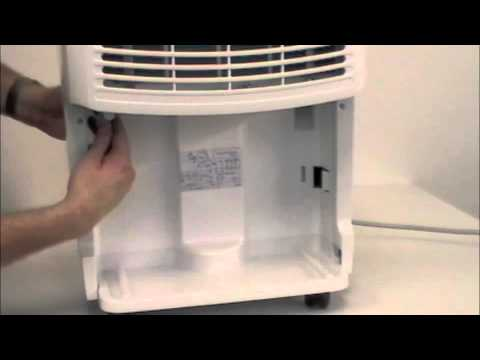 edgestar dep400 650 700 740 portable dehumidifier installation rh youtube com My Haier Dehumidifier Stop Working Lowe's Dehumidifiers for Home