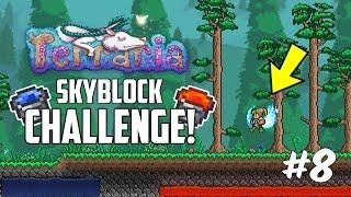Terraria 1.3 SKYBLOCK CHALLENGE! | Custom Modded Map Challenge! | Part 8