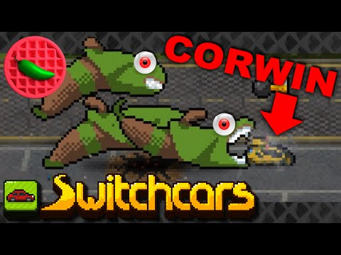CORWIN'S ULTIMATE TIME VICTORY! -- Let's Play Switchcars (Steam PC Roguelike)