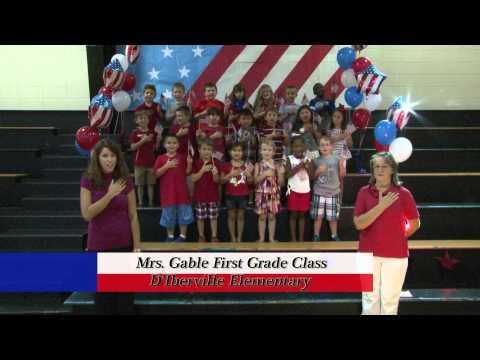 D'Iberville Elementary School - Mrs. Gable's First Grade Class