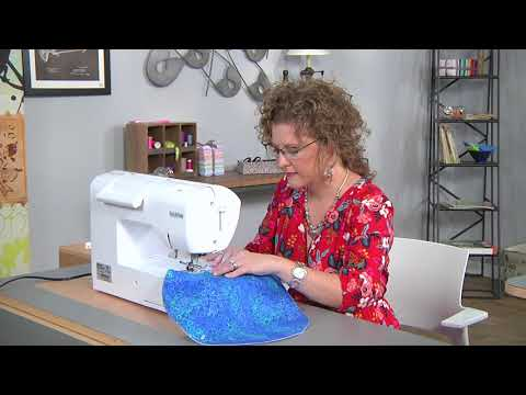 Make a circular jewelry pouch on It's Sew Easy with Kay Whitt (1606-1)