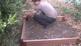 How To Build A Raised Bed Garden From A Kit The Easy Way