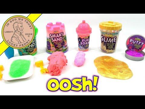 Zuru Oosh Slime - Putty - Sand & Foam Review