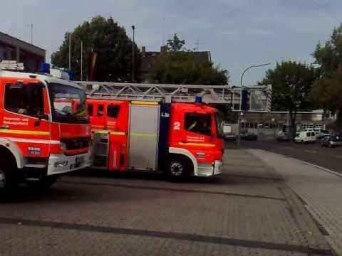 Feuerwehr Bonn Einsatz