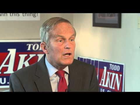 Rep. Todd Akin on Missouri Senate Race