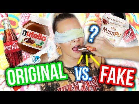 Download Youtube: FAKE gegen ORIGINAL - Was ist besser? 😳 Ich teste Süßigkeiten 🍭🍫 | Dagi Bee