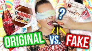 FAKE gegen ORIGINAL - Was ist besser? 😳 Ich teste Süßigkeiten 🍭🍫 | Dagi Bee