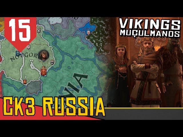 Aqueles Planos INFALÍVEIS  - CK3 3 Vikings Muçulmanos #15 [Gameplay Português PT-BR]