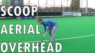 Scoop/overhead/aerial Field Hockey Training Tutorial   Hertzberger TV