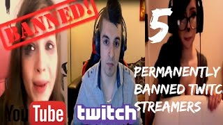 5 Permanently Banned Twitch Streamers