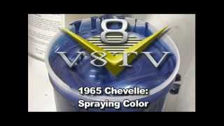 1965 Chevelle Paint Spray Video V8TV