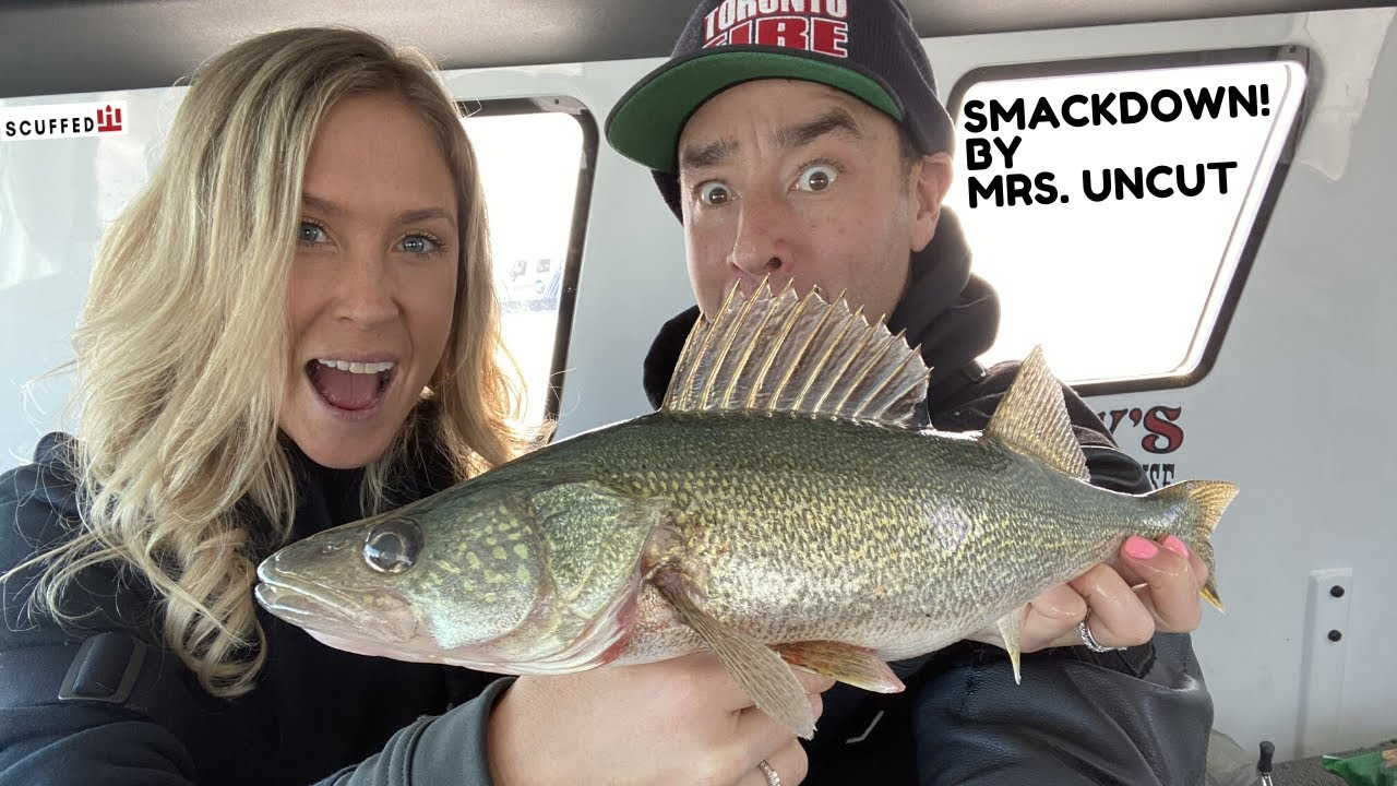Mrs. Uncut Angling Shows the boys up on Lake Winnipeg