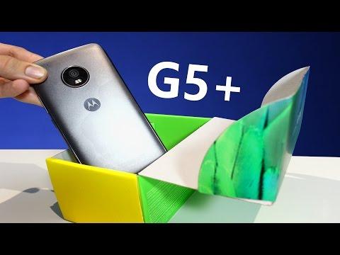 Motorola Moto G5 Plus - Unboxing en español !!