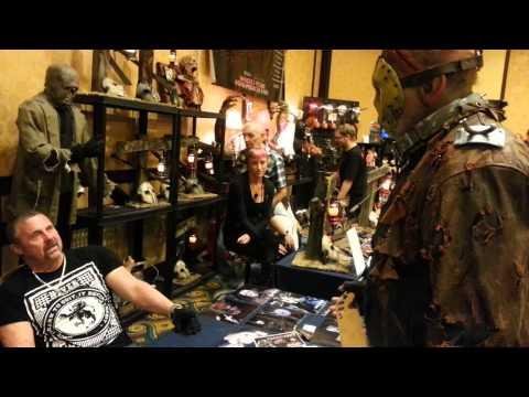 meeting kane hodder at days of the dead la 2014