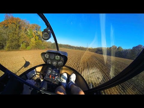 R22 Helicopter Add On Flight 30 - Last Bee Checkride - Good ...