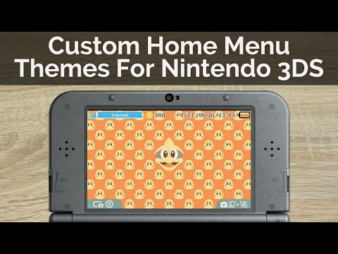 How to Get Custom Themes On A Nintendo 3DS