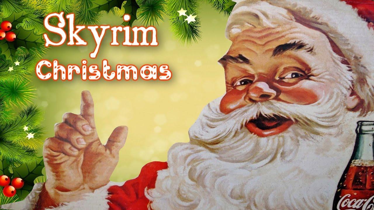 Image result for skyrim, christmas