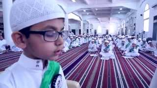 أطفال لايتكلمون اللغة العربية ، يحفظون الأحاديث النبوية ـ أحفاد البخاري ـ
