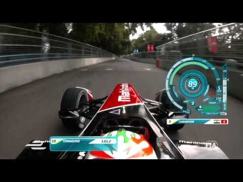 Onboard with Karun Chandhok in Battersea