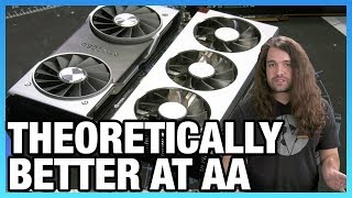 AMD Radeon VII VRAM & Anti-Aliasing Benchmarks vs. RTX 2080