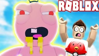 I GET EATEN ALIVE! ESCAPE THE EVIL GIANT BABY! (Roblox Adventures)