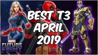 THANOS BRINGS BALANCE? BEST TIER 3 FOR ENDGAME! - Marvel Future Fight
