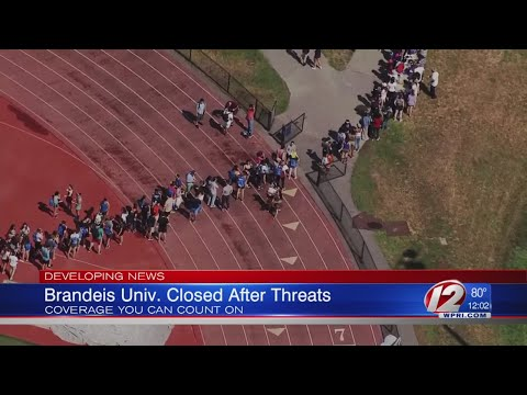 Brandeis University closes campus after threats