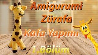 Amigurumi Zürafa Yapımı 1.Bölüm - Sevimli Zürafa Kafa Yapılışı