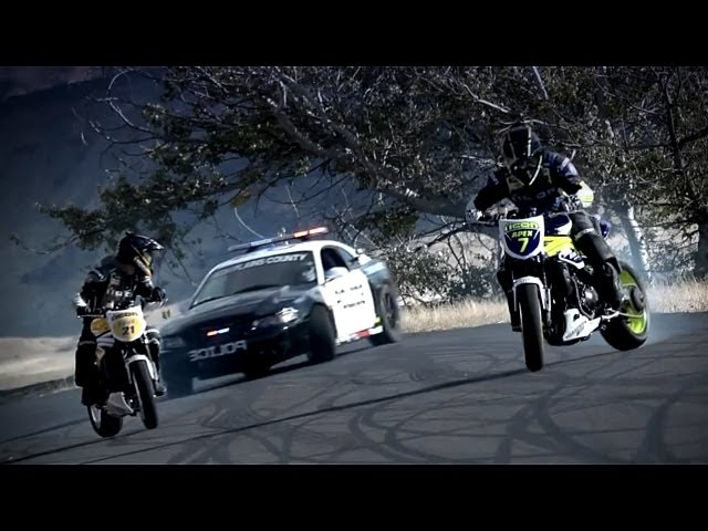 Drift - Motos vs Mustang Cobra