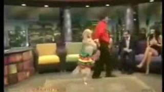 Salsa Dancing Golden Retriever
