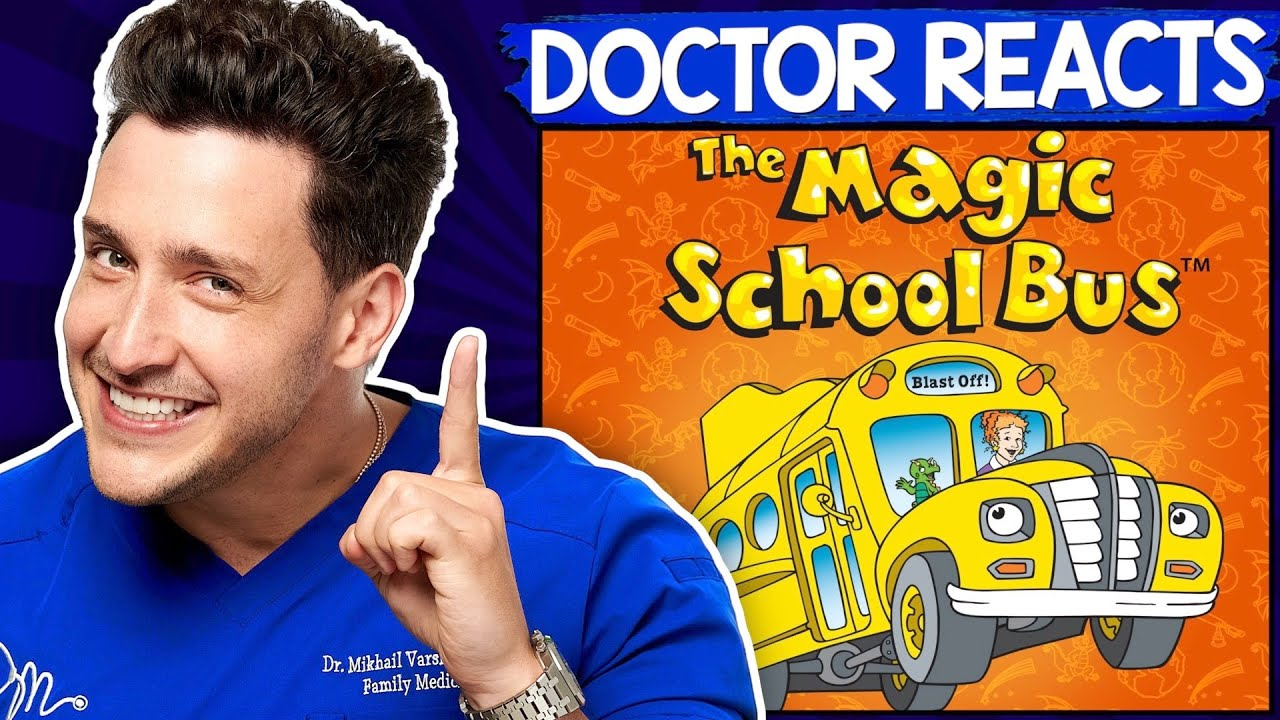 Doctor Reacts To The Magic School Bus   Anatomy Episode