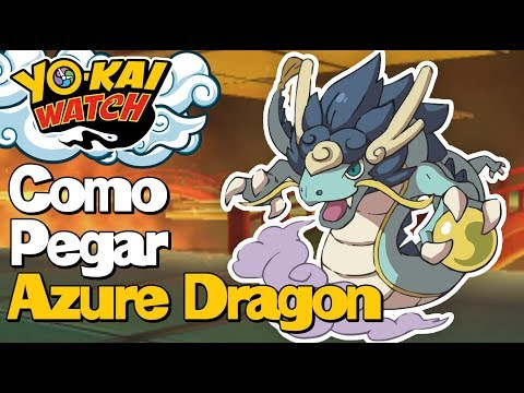 Como Pegar Azure Dragon - Yo-Kai Watch