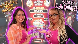 🥁Dancing Drums Slots 🥁$100 BONU$ ➡️Laycee & Melissa | Slot Ladies