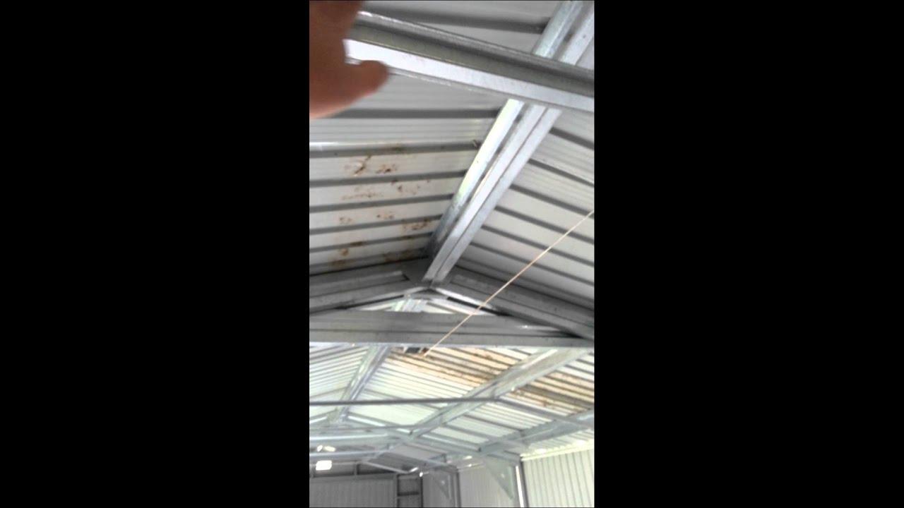 Duramax Imperial Steel 12 X32 Garage