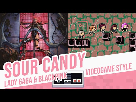 SOUR CANDY, Lady Gaga & BLACKPINK – Videogame Style