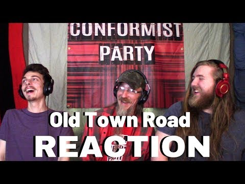 METALHEADS REACT TO OLD TOWN ROAD - Lil NAS X Ft. BILLY RAY CYRUS REACTION