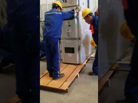 Shifting Of ABB MV Switchgear Panel.
