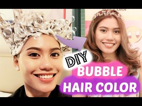 How to use: DIY HAIR COLOR BUBBLE (LIESE)★ Purpleheiress