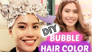 how to use diy hair color bubble liese  purpleheiress