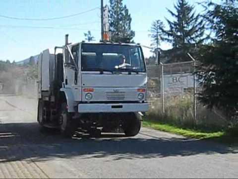 2007 Schwarze M6000 Street Sweeper Full Video Wmv